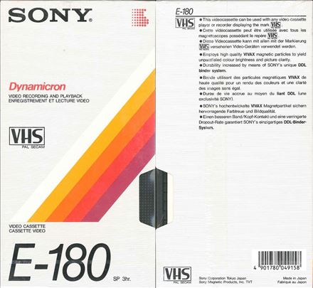 Video: VHS, VHS-C, Hi8, mini DV prebacujem na DVD