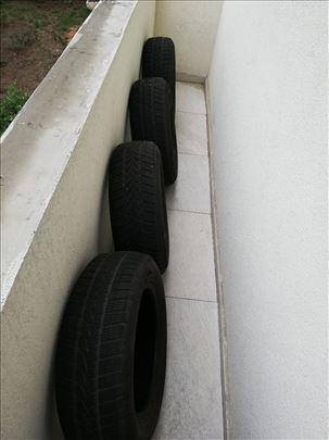 Prodajem 4 polovne gume m+s u odlicnom stnju