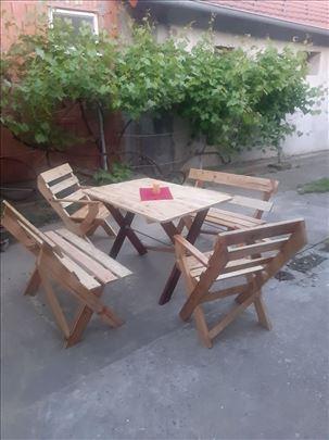 Baštenski set za sedenje. Vidanka. 062/220-850