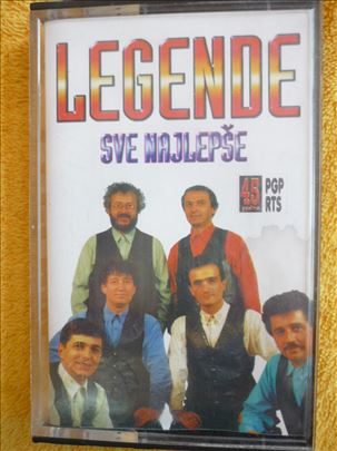 Legende - Sve najlepše, audio kaseta