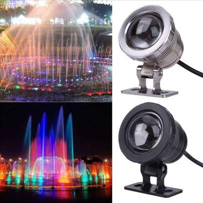 Podvodna led RGB Lampa 12v 9w