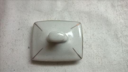 Poklopac porcelanski  6,5x5 cm.