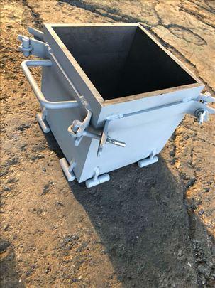 Kalup za beton za uzorak betona