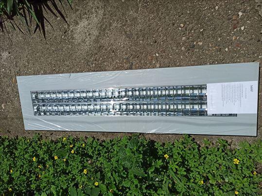Nadgradna lampa 30x120cm, lampe 2*36w