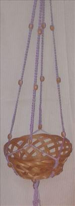 Pletena nosiljka za cvece
