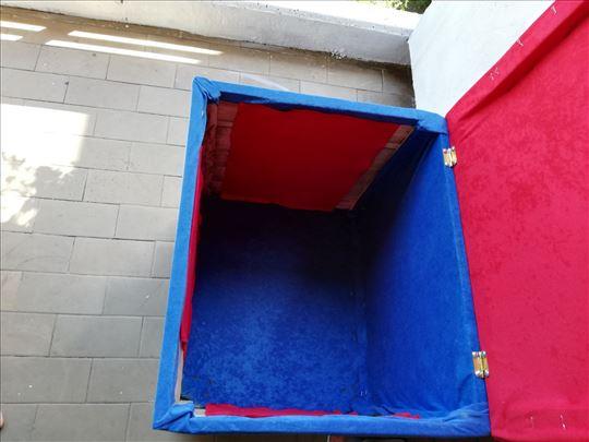 2 u 1 kutija i tabure za igračke
