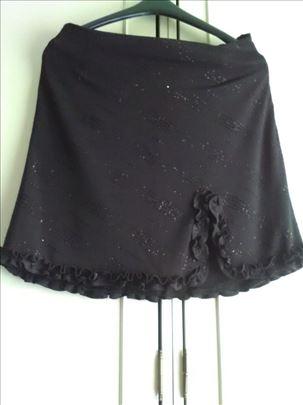 Svecana crna suknja - novo!