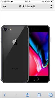 iPhone 8 256GB Kupljen u Telenoru