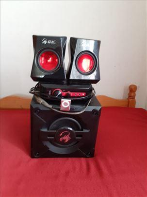 2.1 zvučni sistemi GX i Logitech