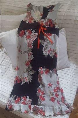 Cvetna romanticna letnja haljina, vel S - POPUST