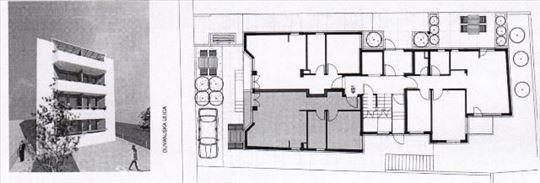 Zvezdara - Olimp, Duvanjska 42,12m2, terasa, dvori