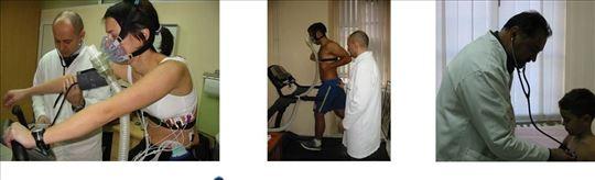 Fizikalni pregled i terapije. Savski venac
