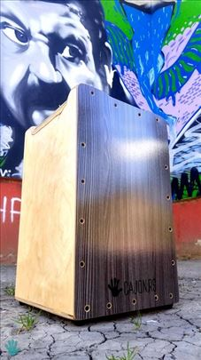 Cajon CURVA Birch