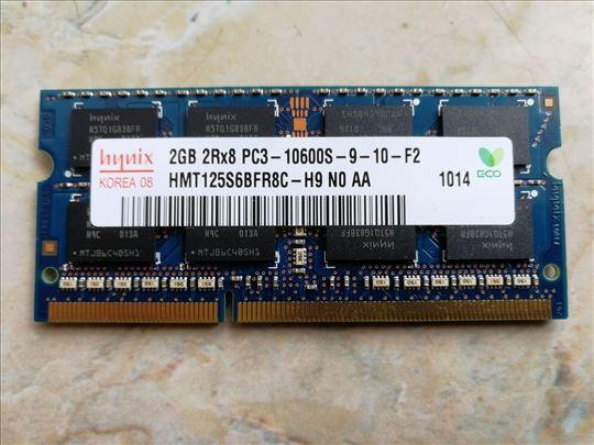 Hynix memorija 2GB 2Rx8 PC3- 10600s -9-10-F2