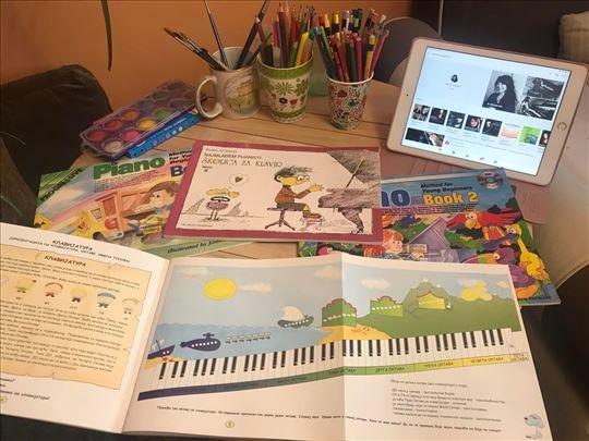 Časovi klavira, iskustvo preko 15 godina
