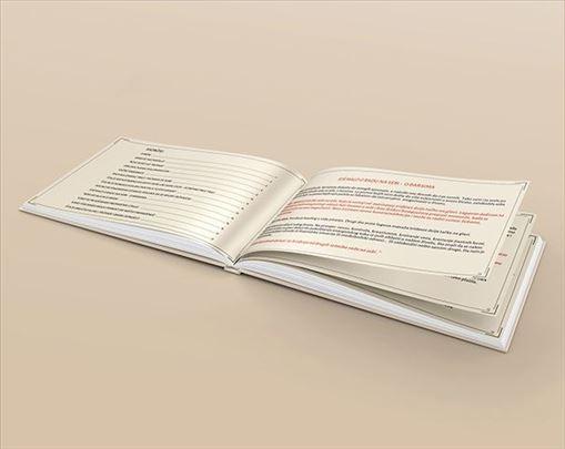 Prelom (slog) teksta: knjiga, kataloga, brošura...