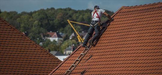 Krovopokrivački radovi, postavljanje krovova