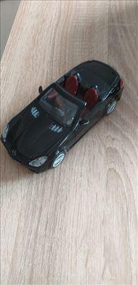 Mercedes cabriolet.Metal.