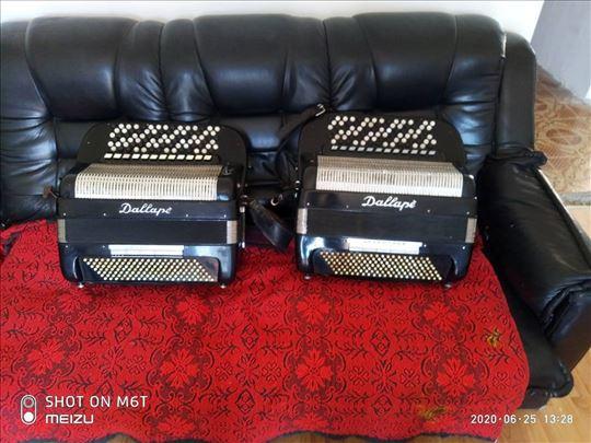 Na prodaju veliki izbor harmonika Dalape dugmetare