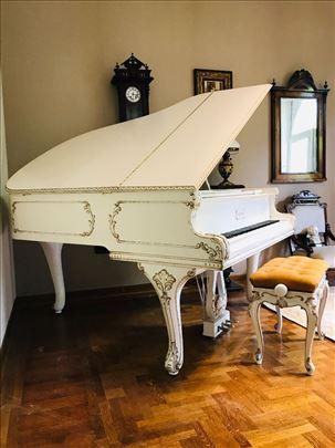Petrof Grand Piano P173 Breeze Rococo