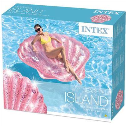 Intex dusek za vodu SKOLJKA 178 x 165