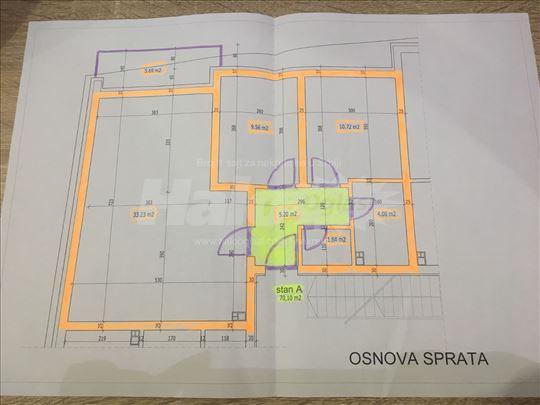 Prodajem nov trosoban stan u centru Sombora