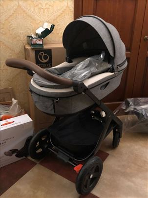 Stokke Trailz Terrain Black w Brown, kolica