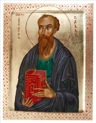 Sveti Apostol Pavle, ikonа, 26x20