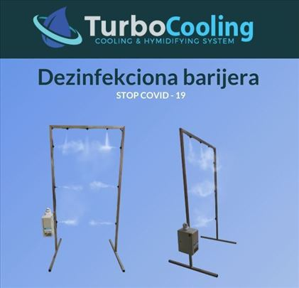 TurboCooling dezinfekciona barijera Ekonomik