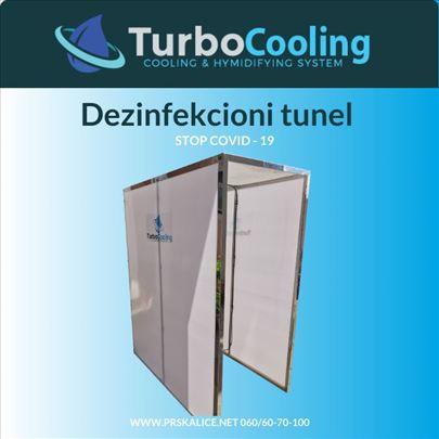 TurboCooling dezinfekcioni tunel