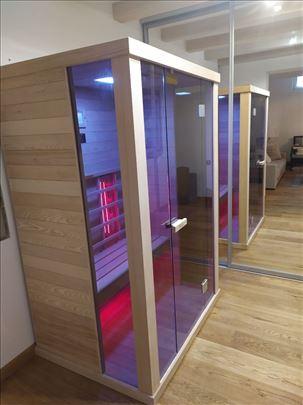 Infrared sauna za jednu i dve osobe -NOVO- 2020god