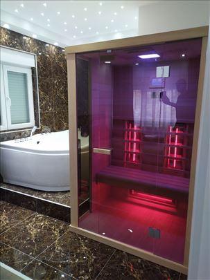 sauna infrared za jednu i dve osobe -novo- 2021g.