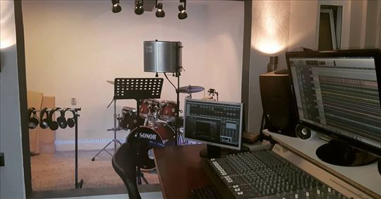 Studio za demo i profi snimanje, izrada covera