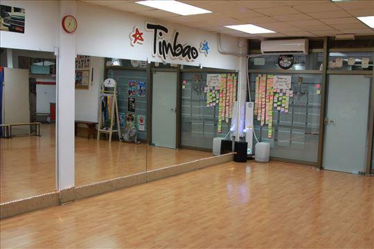 Sala sa ogledalima ples, jezik, fitnes,balet 80m2