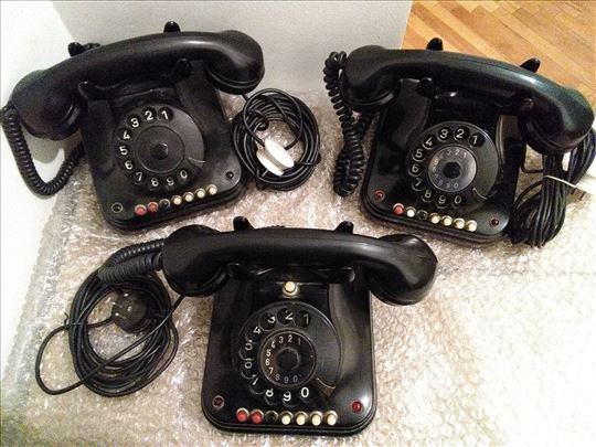 Stari bakelitni  telefoni , Stari  telefoni