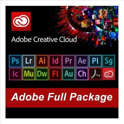 Adobe CC paket i programe