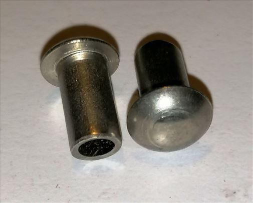 INOX prohrom zakovica 5x12mm sa rupom