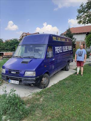Selidbe i prevoz robe kombi vozilom u srbiji