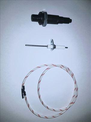 Piezzo upaljač + kabel + elektroda za paljenje