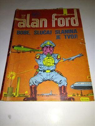 Alan Ford (Vjesnik) br.322-Bobe,slucaj slanina je