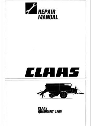 Claas Quadrant 1200 (RC) - Radionički priručnik