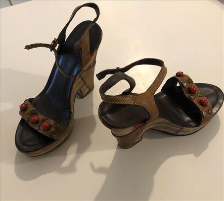 Kozne zenske sandale