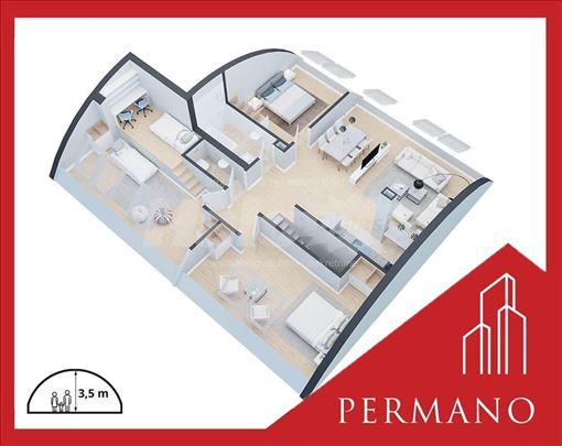 Novogradnja,Odmah useljivo,1050e/m2,Povrat PDV