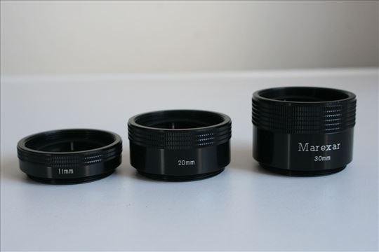 Makro prstenovi M42 Marexar (11, 20 i 30mm)