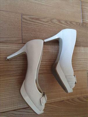 Cipele na štiklu 8 cm, 38 , komplet koža + gumiran