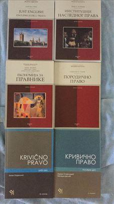 Knjige za I i II godinu Pravnog fakulteta