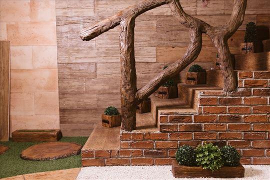 Dekorativni kamen, cigla, veštački mermer, fontane