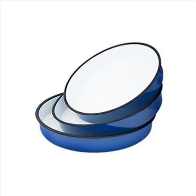 Tepsije emajlirane okrugle set 3/1 OR-36 40 NOVO