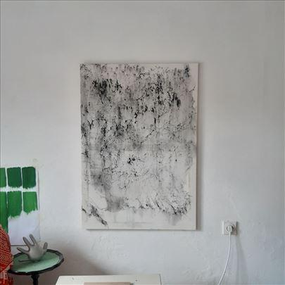 Apstraktna crno bela slika