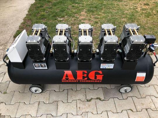 Kompresor bešumni AEG sa automatikom 200 L